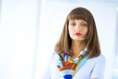 Pomyślna biznesowa kobieta Zdjęcie Stock