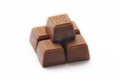 Pomyślna chińczyka znaka czekolada Zdjęcie Royalty Free