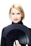 pomyślna portret kobieta fotografia royalty free