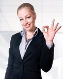 Pomyślni bizneswomany Fotografia Royalty Free