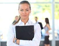 Pomyślny bizneswoman Zdjęcie Stock
