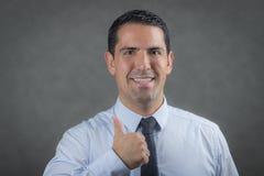 Pomyślny latynoski biznesowy mężczyzna Obraz Royalty Free