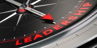 Pomyślny lider, przywódctwo pojęcie ilustracja wektor