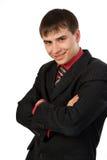 pomyślny biznesmena portret Zdjęcie Royalty Free