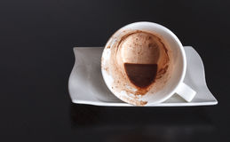 Pomyślności kawa Fotografia Stock