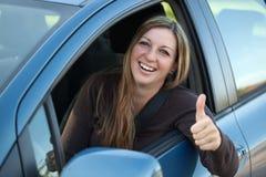 Pomyślny kierowca Fotografia Royalty Free