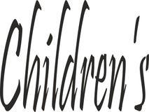 Pomysł dla plakata dziecka ` S royalty ilustracja