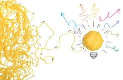 Pomysł i innowaci pojęcie obraz stock
