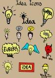 Pomysł ikony royalty ilustracja