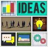 Pomysł innowaci inteligenci mądrości Intelektualny pojęcie Zdjęcia Royalty Free