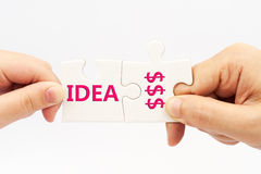 Pomysł pieniądze Obrazy Stock