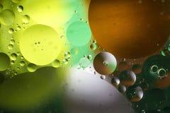 Pomysłowo kolorowy tło z bąblami abstrakcyjny tło zdjęcia stock