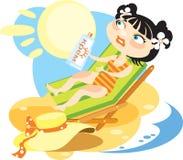 pomysłowo słońce ilustracja wektor