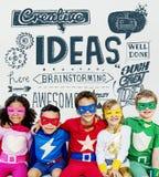 Pomysły Inspirują Kreatywnie główkowania motywaci pojęcie fotografia royalty free