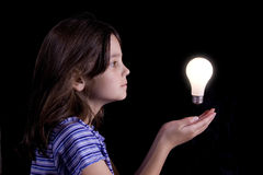 pomysły młodych Zdjęcia Stock