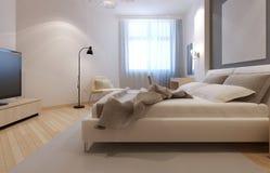 Pomysł art deco sypialnia Obraz Stock
