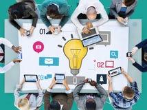 Pomysł innowaci twórczości wiedzy inspiraci wzroku pojęcie Obrazy Stock