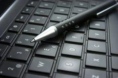 Pomysł. Komputerowa klawiatura. Fotografia Royalty Free