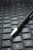 Pomysł. Komputerowa klawiatura. Obrazy Royalty Free