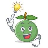 Pomysłu guava maskotki kreskówki styl Obrazy Royalty Free