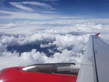 ponad chmurami obraz royalty free