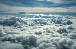 ponad chmurami Zdjęcia Stock