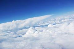 ponad chmurami Obrazy Stock