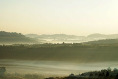 ponad mgła Obraz Royalty Free