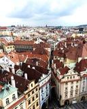 ponad Prague Fotografia Stock