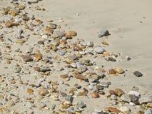 ponadto być sfotografowana w kamyczek morska woda z alg Fotografia Royalty Free