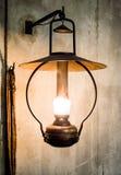 Ponaftowa lampa Zdjęcia Stock