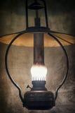 Ponaftowa lampa Fotografia Royalty Free
