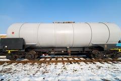 ponaftowy kolejowy zbiornik Obraz Stock