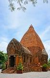 Ponagar góruje, świątynia, thap półdupki, po nagar, nha trang Fotografia Stock
