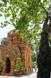 Ponagar góruje, świątynia, thap półdupki, po nagar, nha trang Zdjęcia Royalty Free