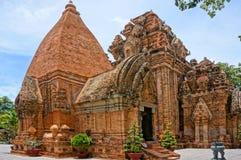 Ponagar góruje, świątynia, thap półdupki, po nagar, nha trang Obrazy Royalty Free
