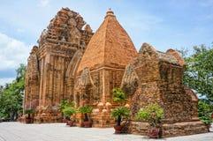 Ponagar góruje, świątynia, thap półdupki, po nagar, nha trang Obraz Stock