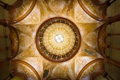 Ponce de圆形建筑的利昂 免版税图库摄影