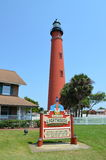 Ponce de Leon Inlet Lighthouse Royaltyfria Bilder