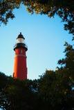 Ponce de Leon Inlet Lighthouse och museum Royaltyfria Bilder