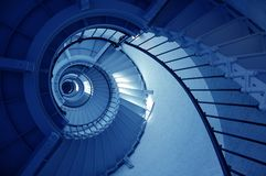 Ponce De Leon Inlet Lighthouse Spiral Staircase Royalty Free Stock Image