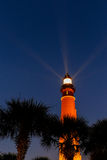 The Ponce De Leon Lighthouse on the Florida coast just before su Royalty Free Stock Images