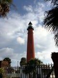 Ponce Eingangs-Leuchtturm Stockbilder