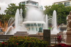 Ponce Fountains Stock Images
