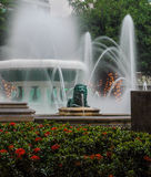 Ponce Fountains. Fountains in the city center of Ponce Puerto Rico Stock Photos