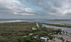 Ponce Inlet, Florida stock photo