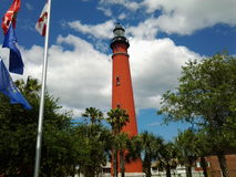 Ponce inlet light house Royalty Free Stock Images