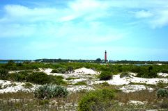 Ponce Inlet Lighthouse another view Royalty Free Stock Photography