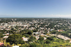 Ponce, Puerto Rico. Aerial view of the city of Ponce, Puerto Rico stock photography