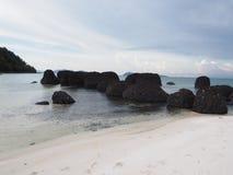 Ponce sur la plage Photo stock